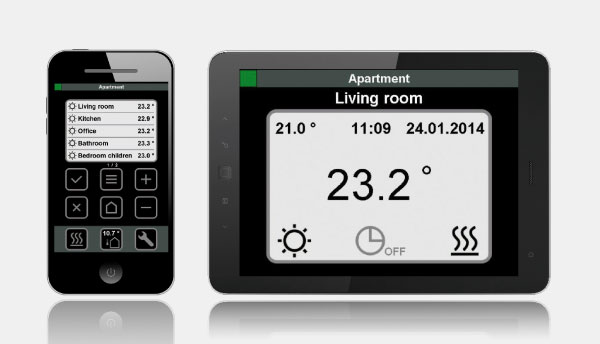 Application mobile Eco Climate Control